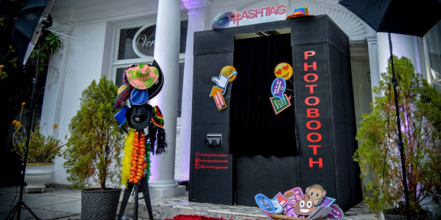 Photobooth Hashtag